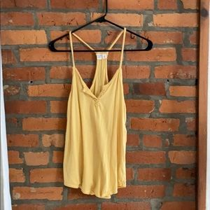 Mel rose & market light yellow tank